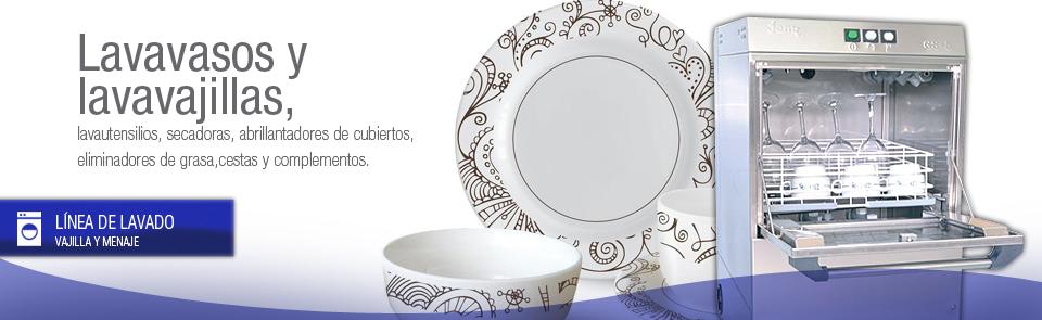 Maquinaria de lavado de vajilla y menaje para hosteler a for Menaje hosteleria
